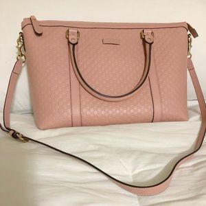 Gucci Microguccisima Handbag Leather Crossbody